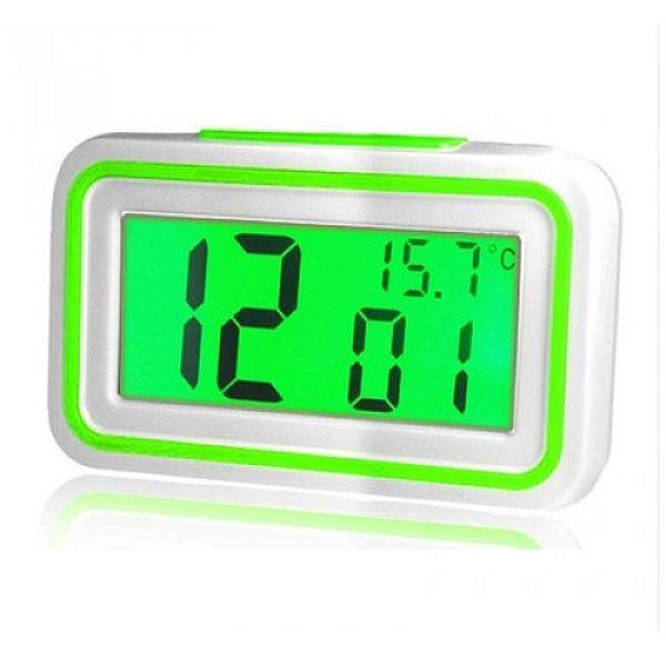 Говорять настільні годинники Kk-9905tr з підсвічуванням, green вставка