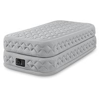 Надувная кровать Intex 64462, 99 х 191 х 51 см, встроенный электронасос. Односпальная