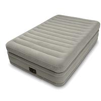 Надувная кровать Intex 64444, 99 х 191 х 51 см, встроенный электронасос. Односпальная