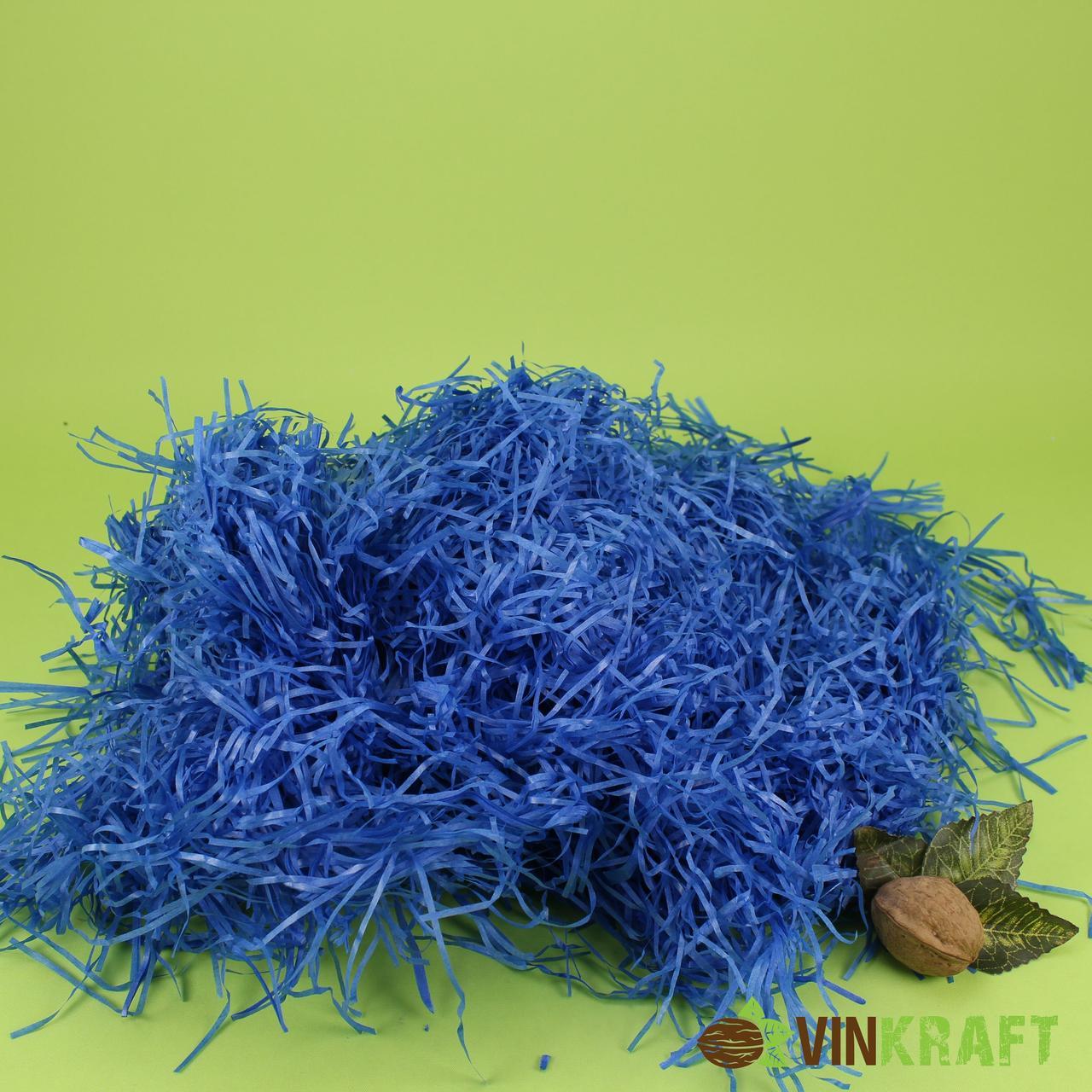 Наповнювач з паперу тишью (100 г), електрик (синій)