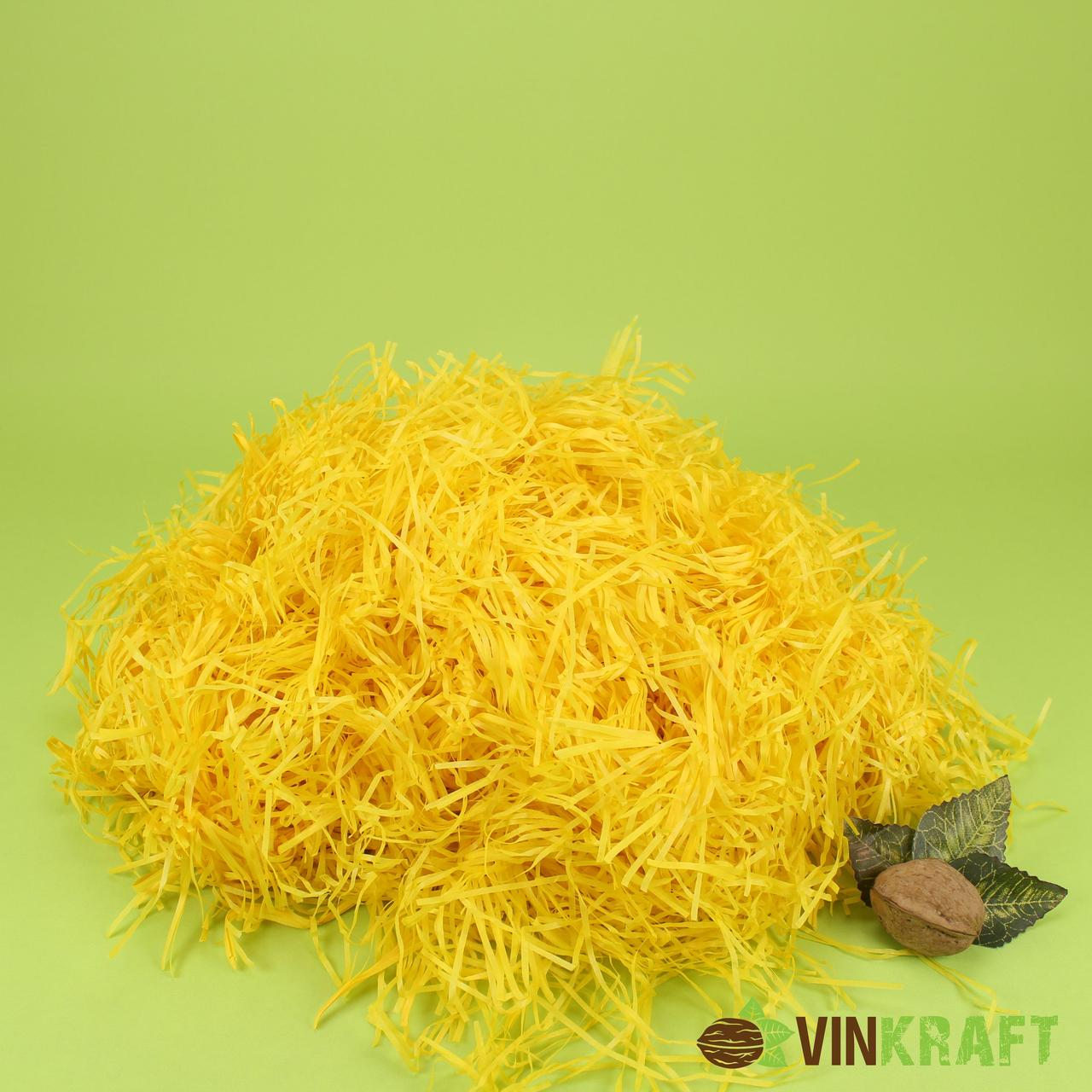 Наповнювач з паперу тишью (100 г), жовтий