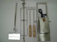 Электровертел на мангал 1000мм (100% нерж)
