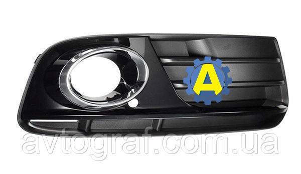 Решетка бампера переднего левая и правая на Ауди Q5 (Audi Q5) 2008-2016