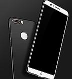 Чохол пластик з Soft-touch покриттям для ZTE Nubia Z17 Lite (NX591J) / Скла /, фото 2
