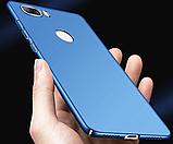 Чехол пластик с Soft-touch покрытием для ZTE Nubia Z17 Lite (NX591J) / Стекла /, фото 3