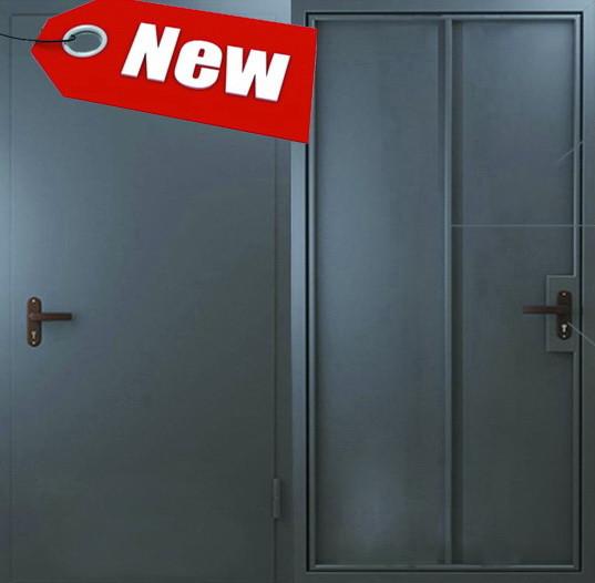Дверь Техническая 1 лист металла