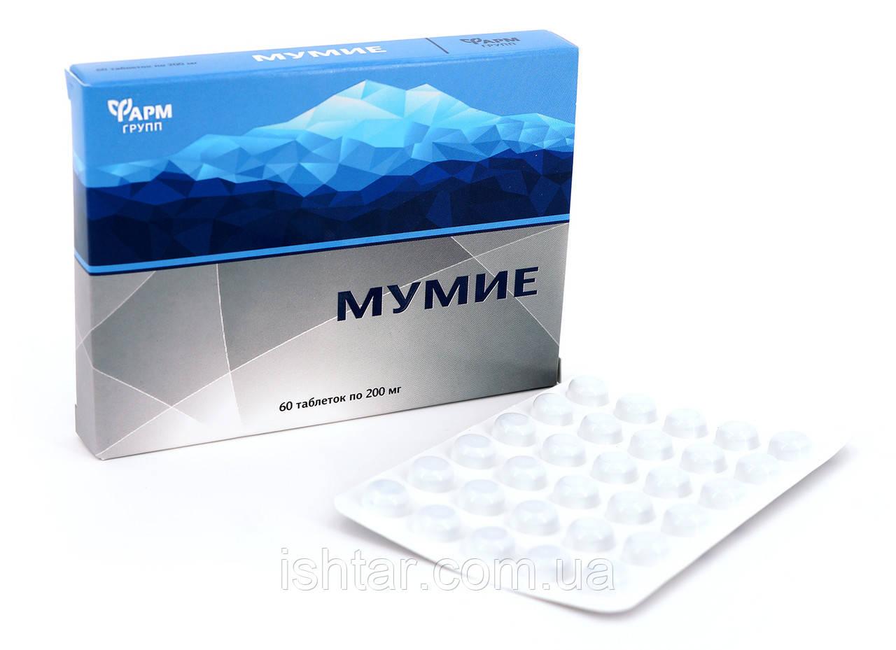 Мумие очищеное 60 таблеток