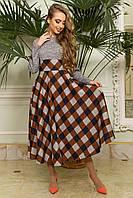 Платье женское с широкой юбкой, фото 1