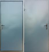 Дверь Техническая 2 листа металла