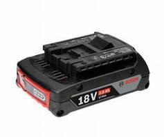 Аккумуляторная батарея Li-ion Bosch GBA 18 V, 2 Ач (1600Z00036)