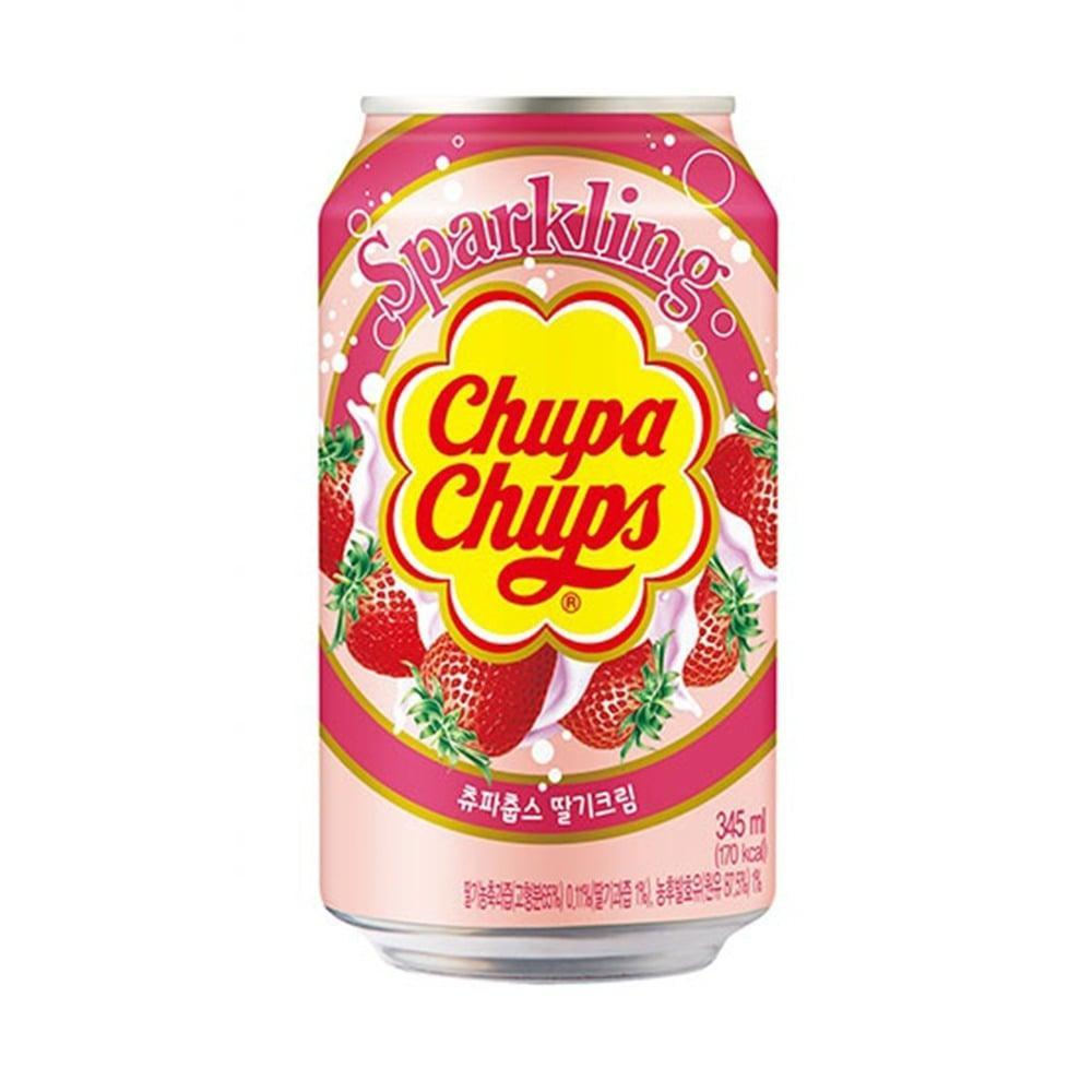 Chupa Chups Sparkling Strawberry