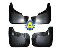 Комплект брызговиков передние и задние на Ауди Q5 (Audi Q5) 2008-2016