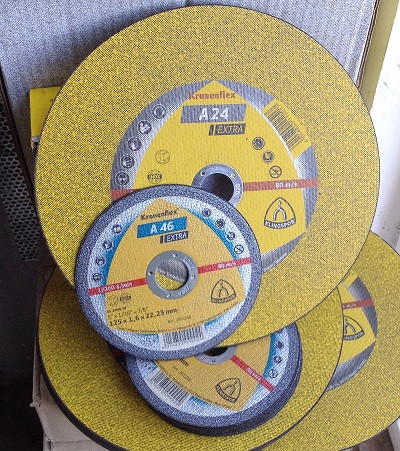 Круг отрезной Kronenflex 125х2,5х22 по металлу