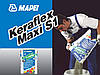 Клей для плитки и камня с толщиной нанесения от 3 до 15 мм, Keraflex Maxi S1,серый  Mapei.25 кг.