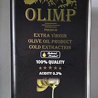 Оливковое масло экстра-класса холодная экстракция Gold Extra Virgin 5 л