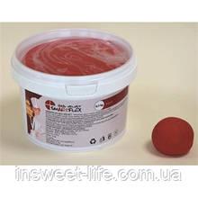 Мастика кондитерская красная ванильная Smartflex Velvet 0,7кг/упаковка