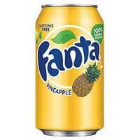 Напиток Fanta pineapple, 335 ml