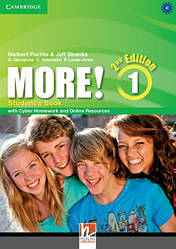 More! 2nd Edition 1 Student's Book with Cyber Homework and Online Resources