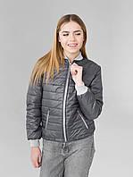 Стильная куртка  ветровка, наполнитель синтепон Размерный ряд:  S (42-44), M (44-46), L (46-