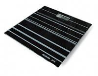 Весы электронные на стеклянной платформе Momert (Полосы)