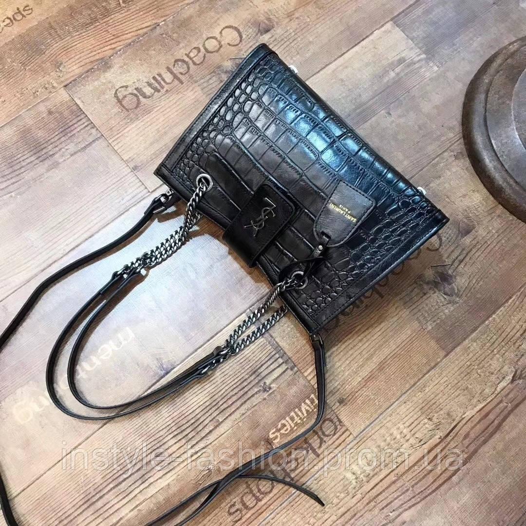b8d4de3c8d94 Женская модная и стильная сумка копия YSL Yves Saint Laurent качественная  эко-кожа Китай,
