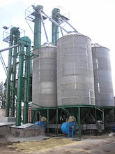 Охладители зерна БВ-25 и БВ-40