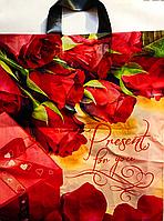 Пакет полиэтиленовый Петля Розы 37 х42 см / уп-25шт