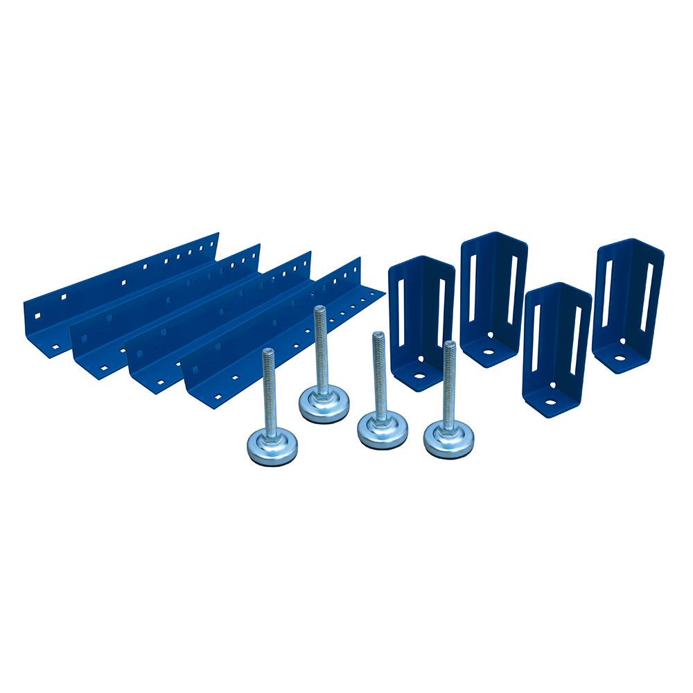 Комплект (4шт) опор для верстака высотой 438-590 мм