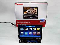 1din магнитола Pioneer PI-900 + Камера заднего вида+ ТВ антенна, фото 1