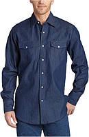 Джинсовая рубашка Wrangler Men's Authentic Cowboy Cut Work Western
