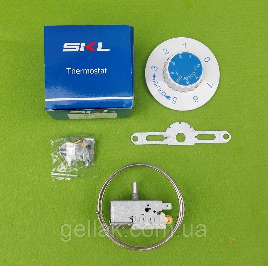 Термостат капиллярный универсальный SKL / K59-P1686 / 6A / 250V / L=1,3м для одно-двухкамерных холодильников