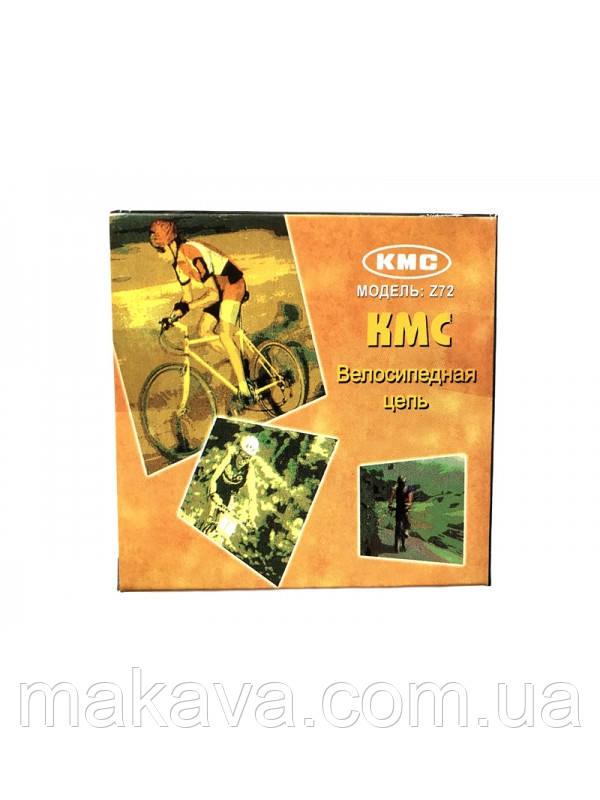 Цепь KMC-Z72 (8 звезд) (dark silver/brown)