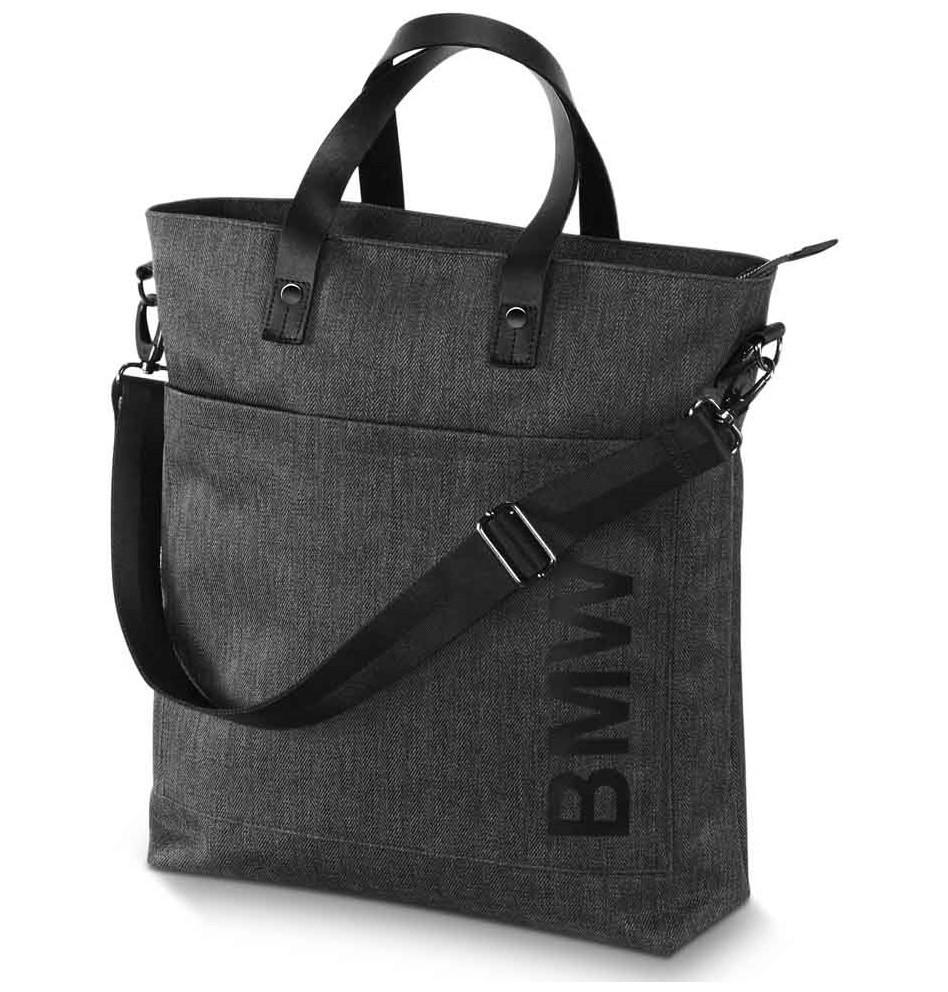 Сумка BMW Shopper, Grey, артикул 80222413792