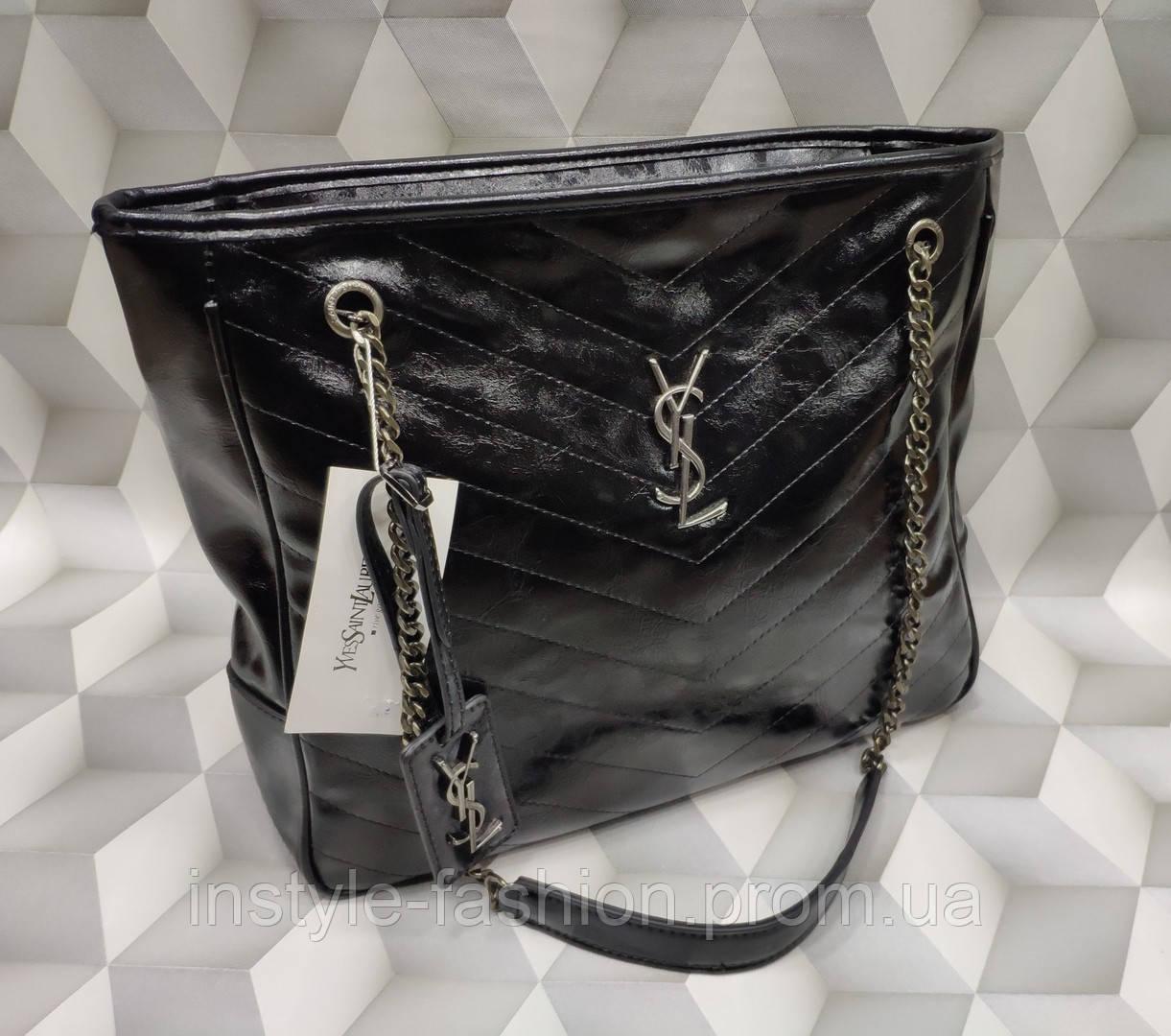 75391bddcf57 Женская сумка копия YSL Yves Saint Laurent качественная эко-кожа дорогой  Китай