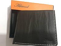 Ashwood. Брендовая мужская темно-коричневый кожаный портативный кошелек портмоне- клатч.