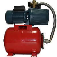 Насосна станція для води 1,1 кВт Ультра JET 100 A бак 24л
