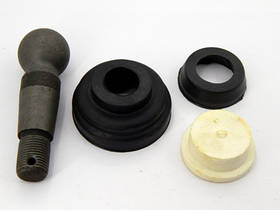Ремкомплект наконечника рулевой тяги (с пальцем) МТЗ, ЮМЗ, Т40, Т-16  (арт.818)