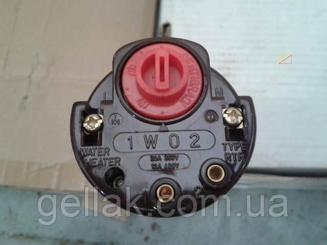 Терморегулятор механический ISITAN / type RTR - 1W02 / 20A / 250V / T105 (для ТЭНов) / L=270мм Sanal, Турция