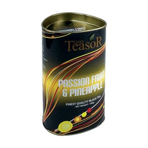 Чёрный чай Тисор Маракуйя Ананас 100 г, фото 2