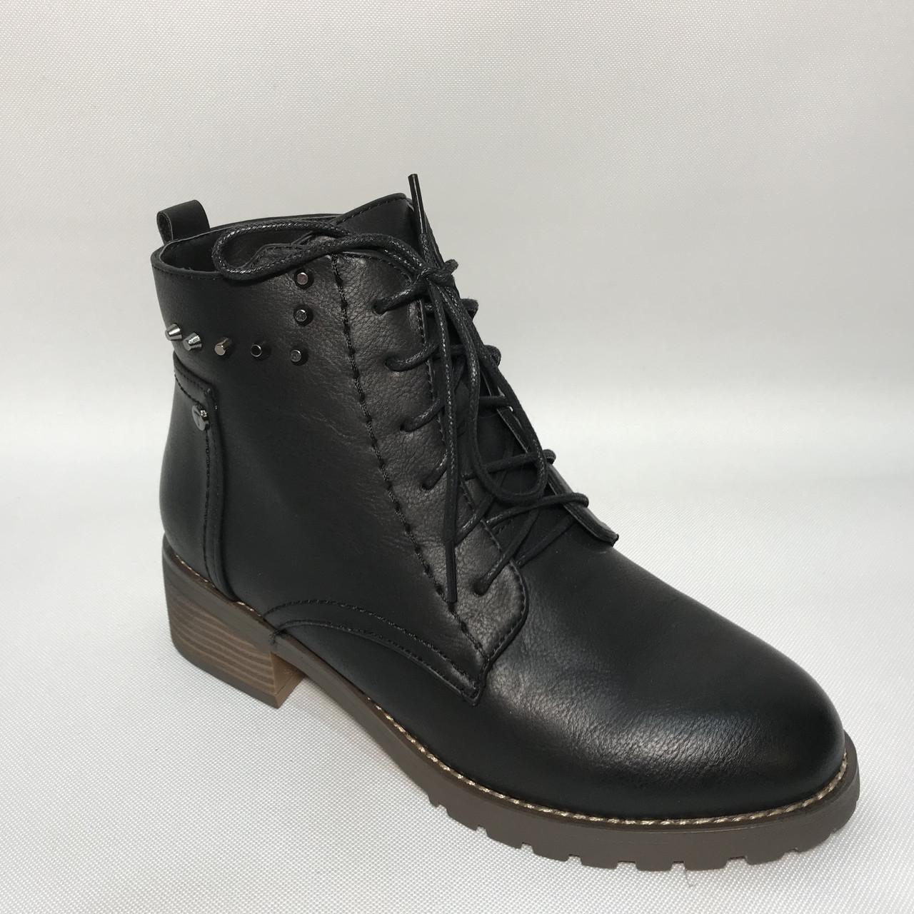 Ботинки женские / черные / р.36-41