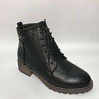 Ботинки женские / черные / р.36-41, фото 1