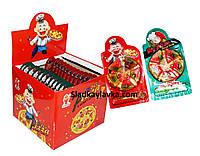 Желейная конфета Gummy Pizza 24 шт (Prestige), фото 1
