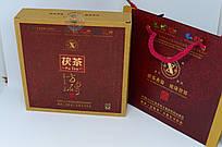 FU TEA.  Brick Tea 1000гр.   2011год. Это чёрный чай из провиции Хунань, ферментированный.