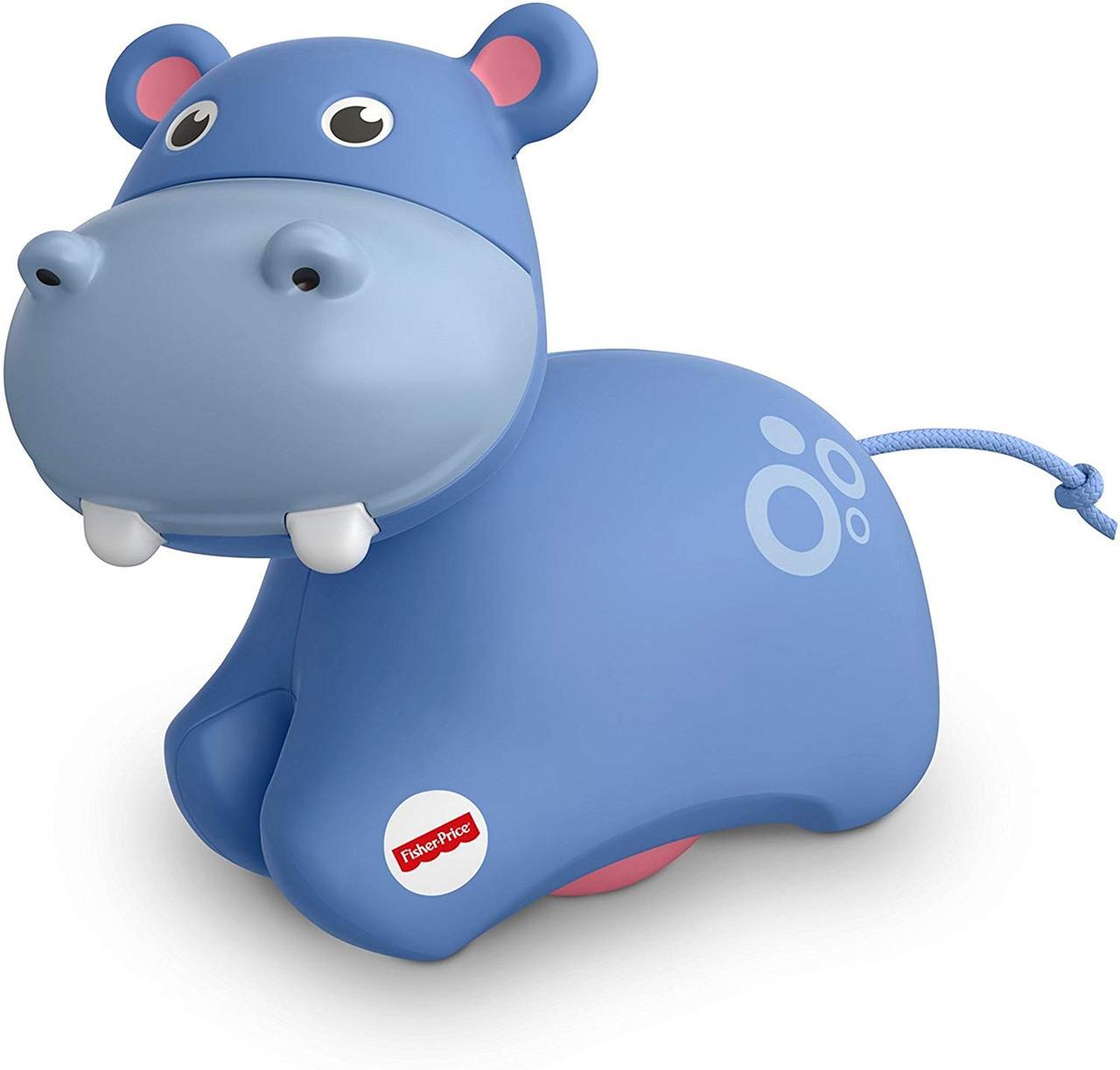 Игрушка роллер Бегемот Fisher-Price Roller Hippo