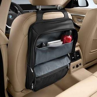 Сумка для спинки сиденья BMW Luxury, артикул 52122339140