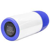★Беспроводная колонка BL JBL Pulse Р3 Blue портативная светоэффекты AUX USB micro SD micro USB Стерео, фото 2