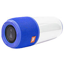 ★Беспроводная колонка BL JBL Pulse Р3 Blue портативная светоэффекты AUX USB micro SD micro USB Стерео, фото 3