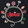 Браслет со множеством подвесок «Мстители» Марвел (Avengers Marvel)