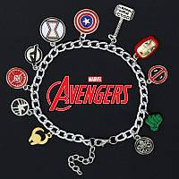 Браслет со множеством подвесок «Мстители» Марвел (Avengers Marvel), фото 1
