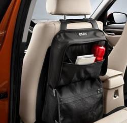 Кишеня-сумка для спинки сидіння BMW Black, артикул 52122303033